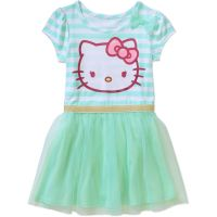 Hello Kitty Toddler Girl T-Shirt Tutu Dress | Fashion ...