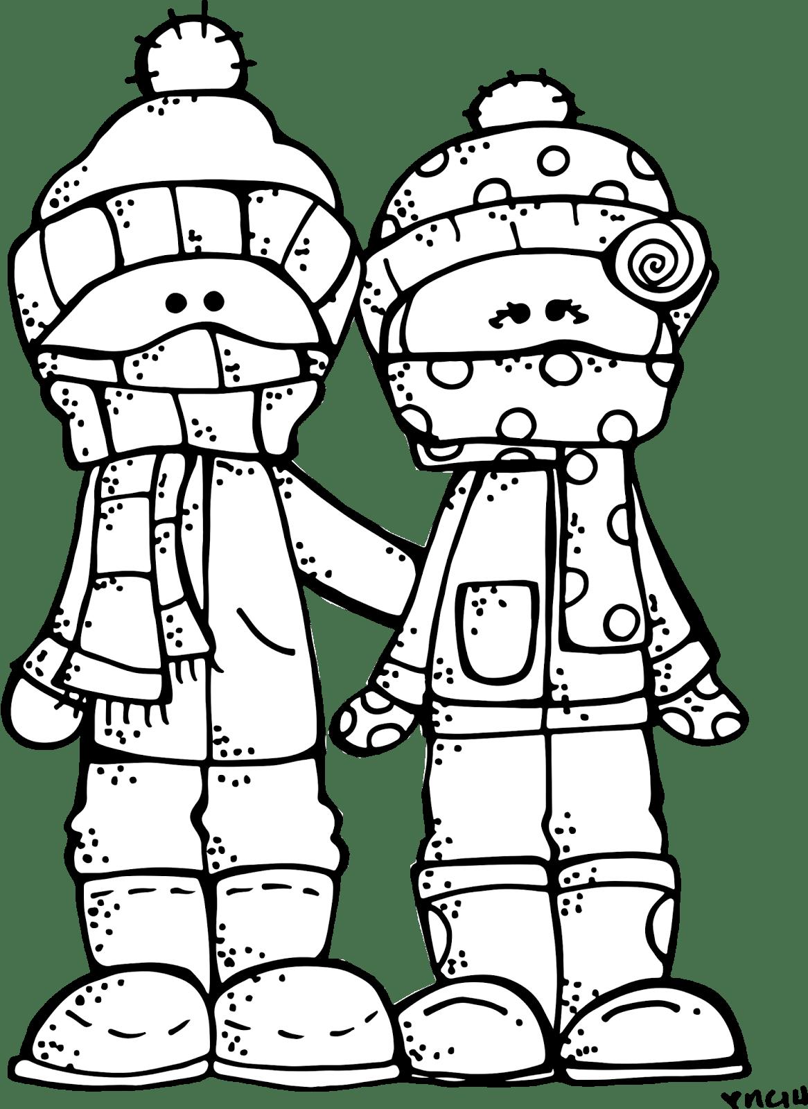 Melonheadz Lds Illustrating Winter Freebie
