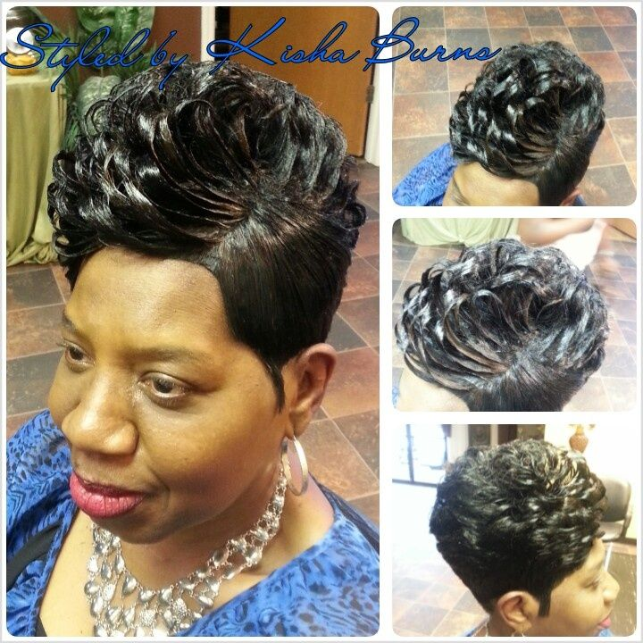 28 Piece Weave Quick Weave Styled To Perfection Weaved Hair