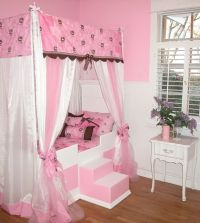 twin sixe bed with canopy | canopy twin bed  twin canopy ...