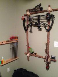 homemade bow holder - Sk p Google   Archery   Pinterest ...