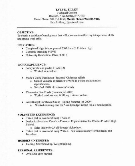 Plain Text Resume Example - Examples of Resumes - ascii format resume