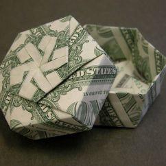 Folding Origami Box Diagram Honeywell Nfs 320 Wiring Gift Money Pinterest And