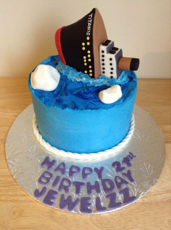 20 Titanic Edible Cake Topper Pictures And Ideas On Meta Networks