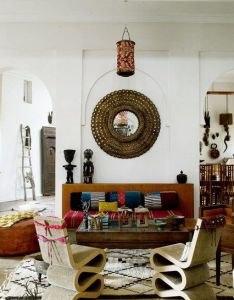 Global decor maryam montague   morocco meets indian home living room design also india interiors rooms and rh pinterest