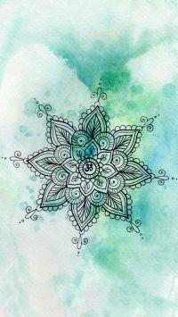 Mandala / Wallpaper / lockscreen / verde | Ari | Pinterest ...
