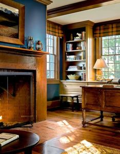 Dutchess county farmhouse traditional home office new york by ecoterior solutions fire place mantal also pin melissa stevens interiors on kitchens pinterest color rh