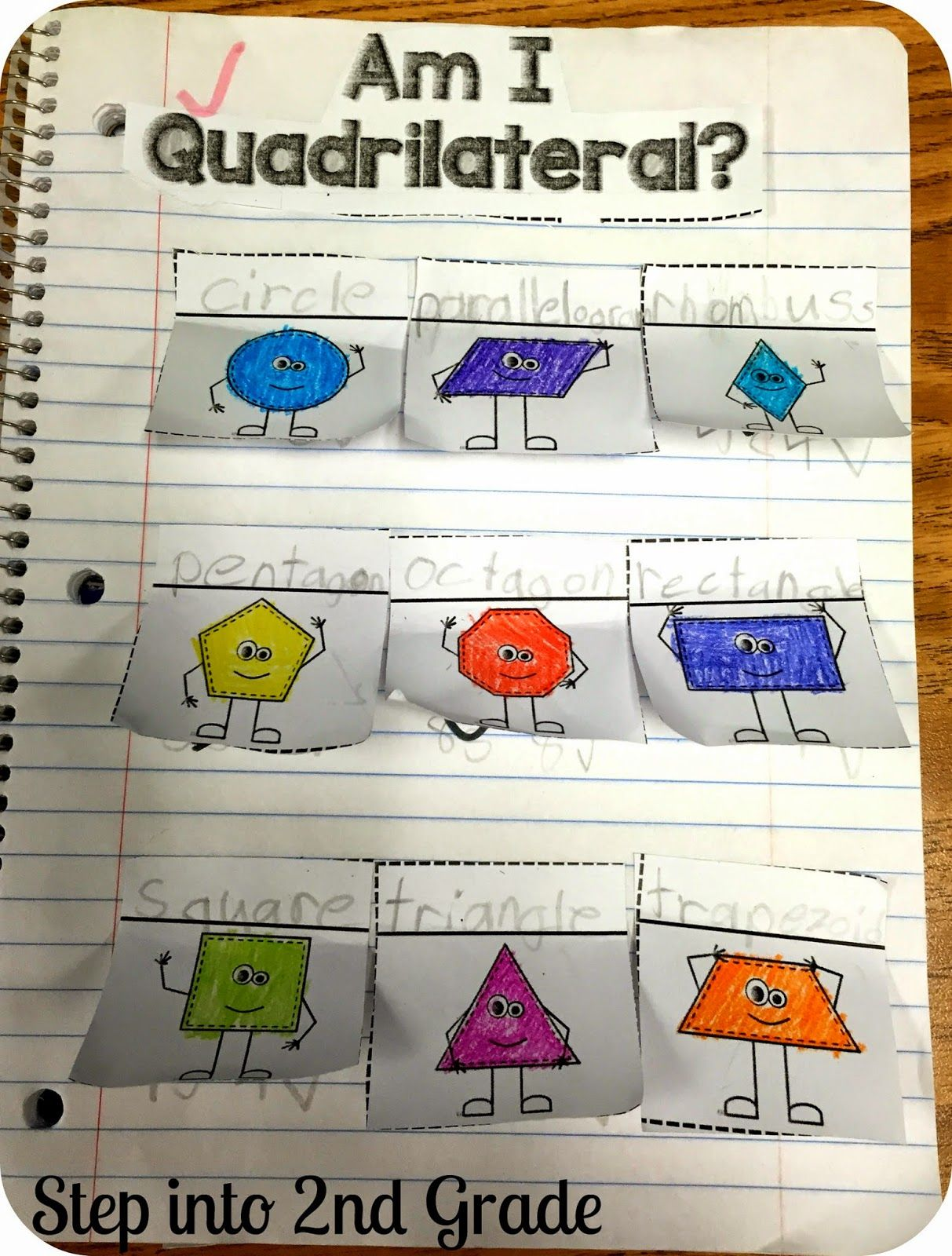 Learning 2d Shapes And Quadrilaterals