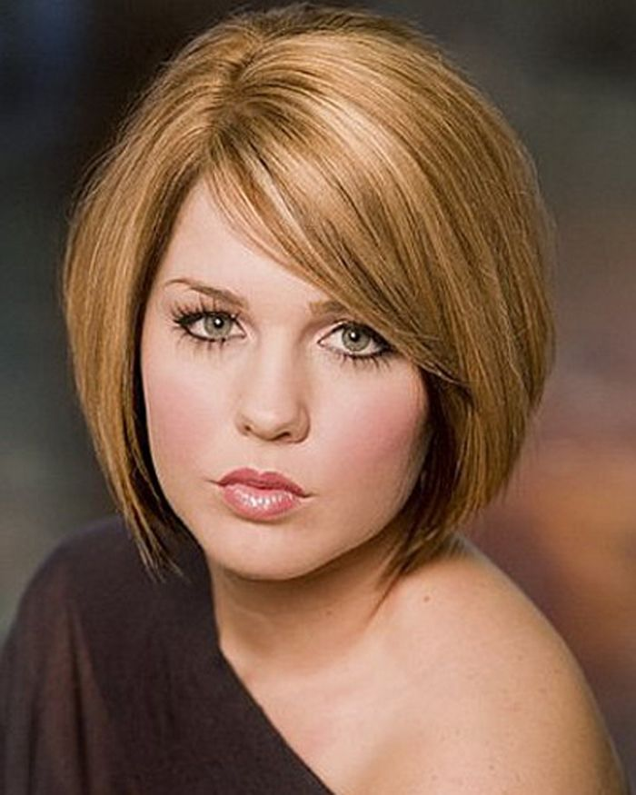 Short Hairstyles For Round Faces And Thick Hair Hair Pinterest