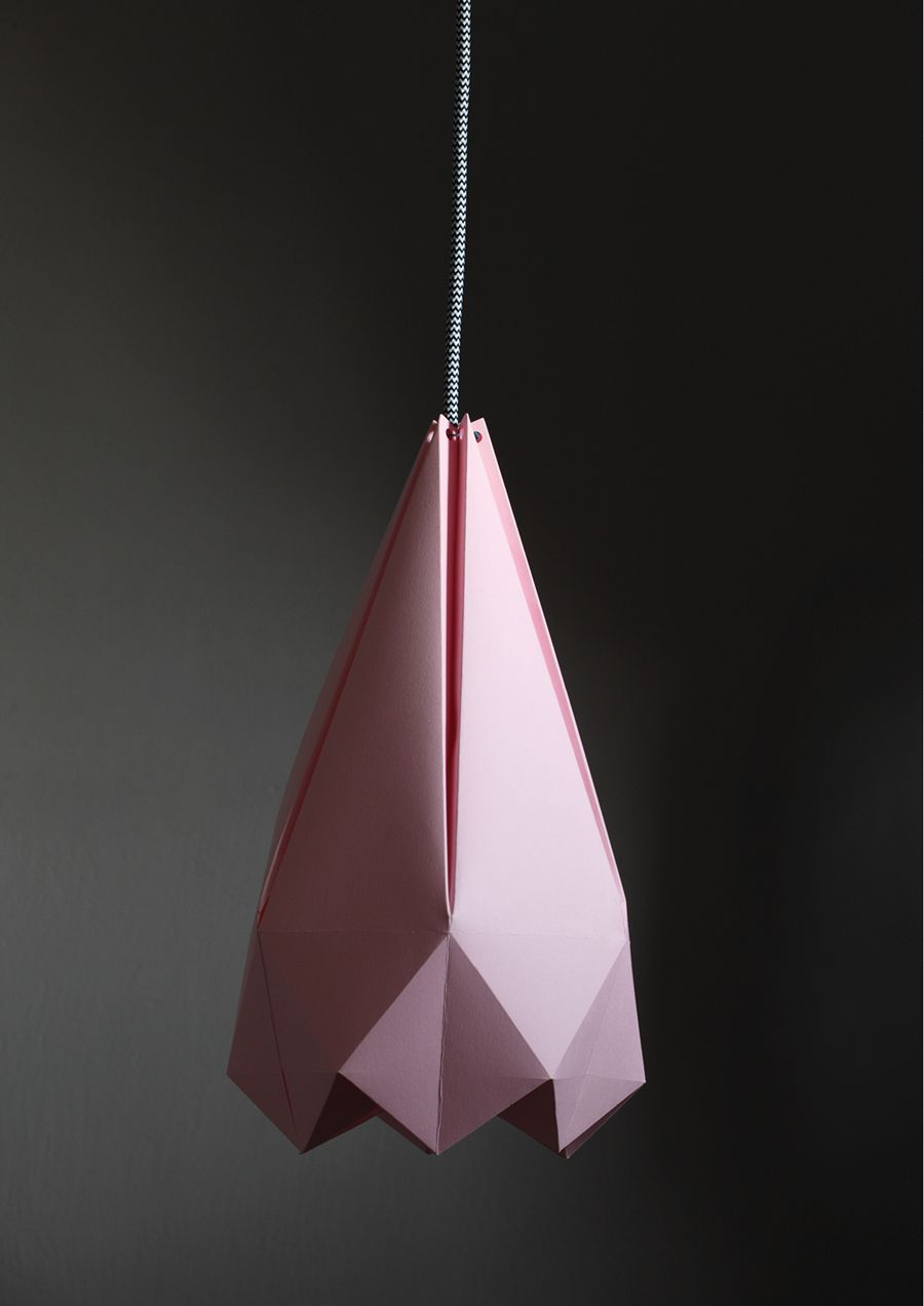 DIY PAPER LAMP WITH FREE TEMPLATE