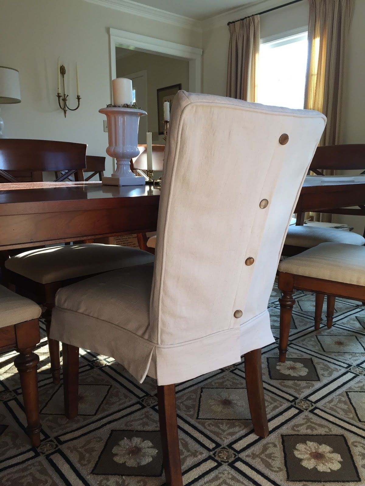 Covers For Chairs Dropcloth Slipcovers For Leather Parsons Chairs
