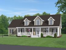 Cape Cod House Plans with Porch