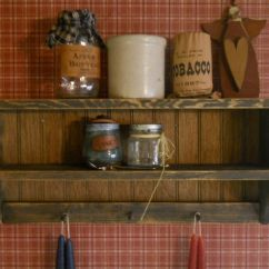 Country Shelves For Kitchen Stainless Steel Faucet Best 25 43 Primitive Ideas On Pinterest Hanging