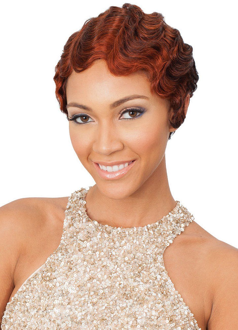 African American Short Hairstyles Short Finger Wave Hairstyles