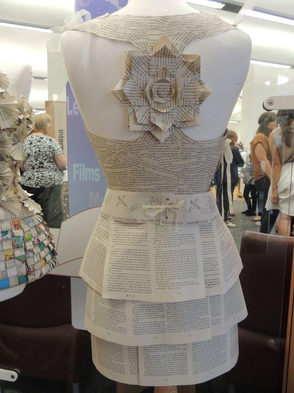 Fashion Paper Dress
