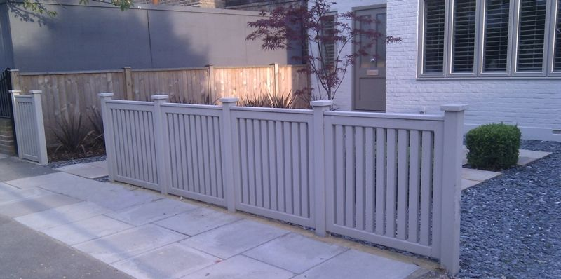 Contemporary Panel Fence Modern London Screen London 800×398