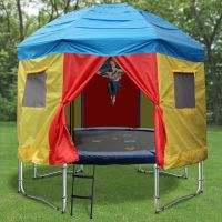 39 Awesome tent cover for trampoline images | Kids space ...