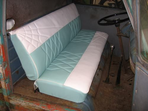 Roll Car And Upholstery Tuck Diamond