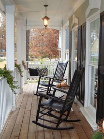 Outdoor Furniture Options And Ideas Rocking Chairs