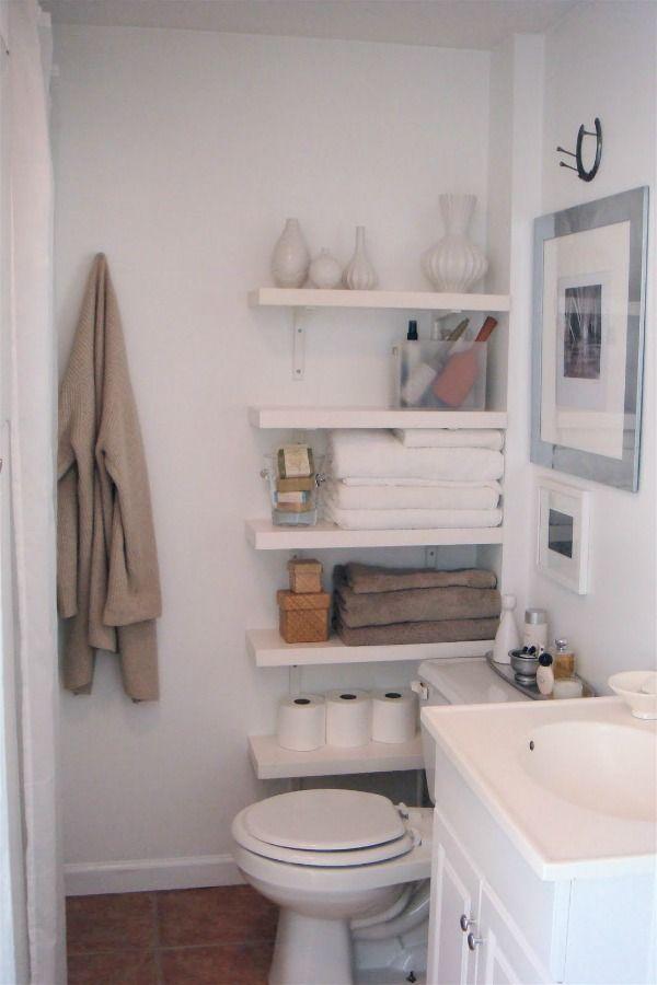 Bathroom Storage Solutions  Small Space Hacks  Tricks