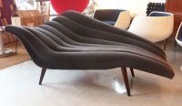 Ultra Chic Chaise Lounge Modernist Fainting Couch