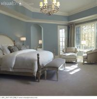 French Country Blue Paint Colors | Master Bedroom: Soft ...