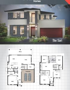 The sari double storey house design sq      also rh br pinterest