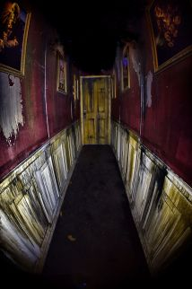 Hallway Leading Morgue Room. 2014 Thornhill Woods