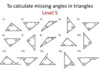 Triangles, identifying and finding missing angles | Life ...