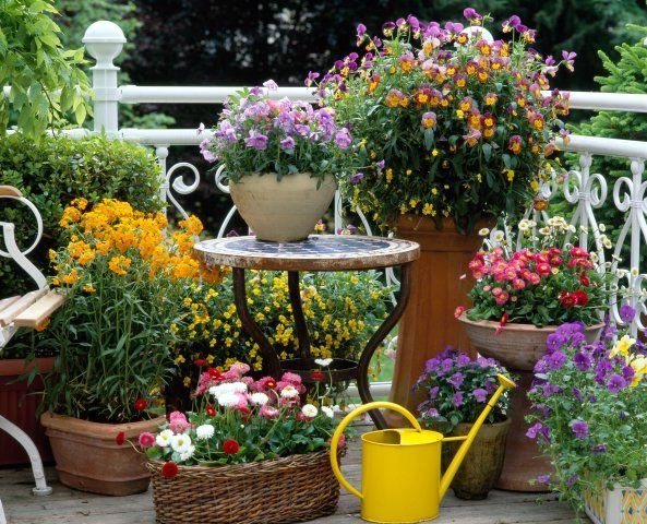 Mixing Pots & Urns Of Different Size & Shape Can Make For A Very