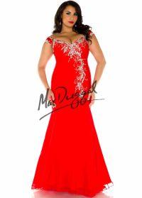 Fabulouss by Mac Duggal 65063 Sexy Red Corset Plus Size ...