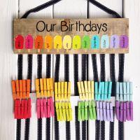Birthday chart - class birthdays - classroom decor ...