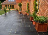 outside slate tiles - Google Search | Garten | Pinterest ...