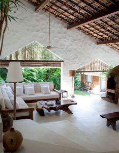 House also une maison de reve sur plage bresilienne planete deco  homes rh pinterest