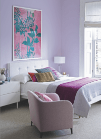 Pretty lilac bedroom. Like the color scheme. | Home decor ...