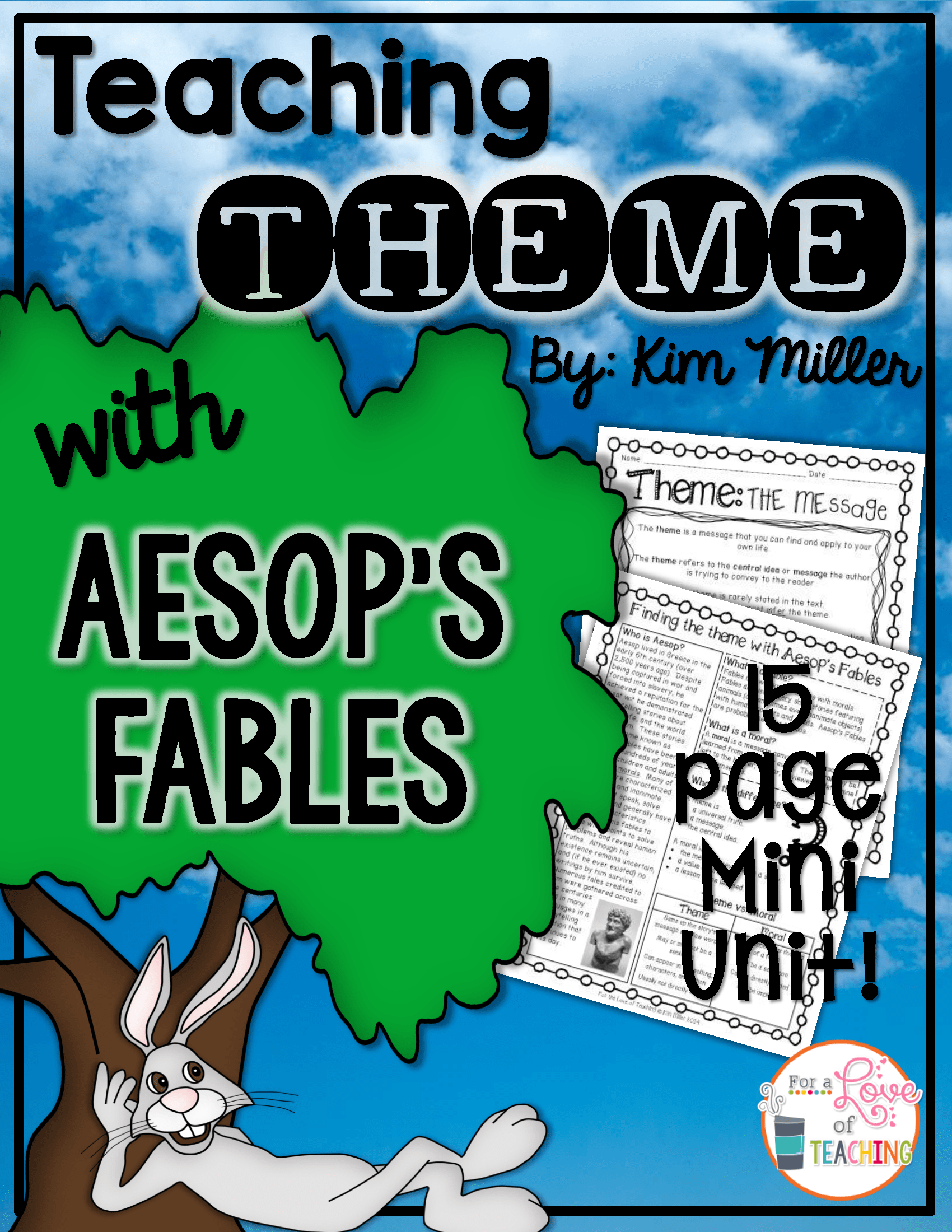 Mastering Theme With Aesop S Fables
