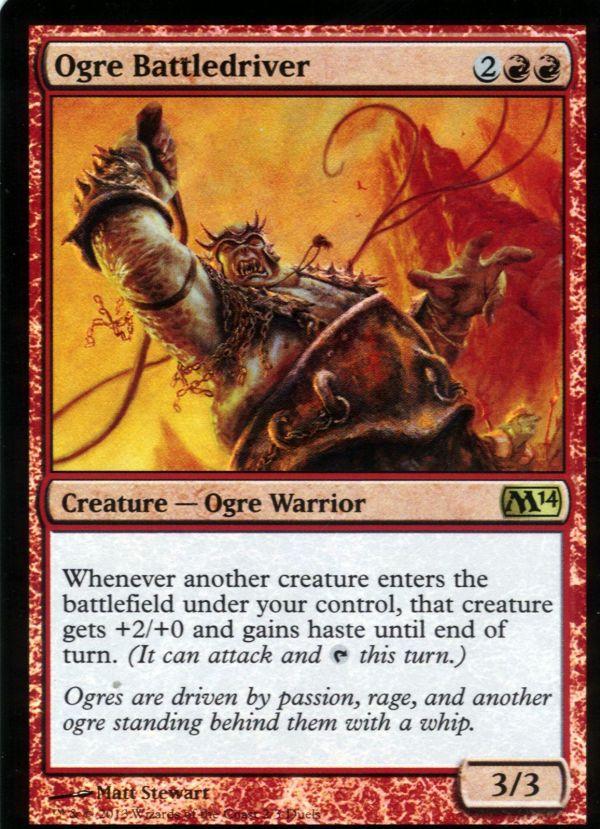 Ogre Battledriver Foil Alternate Art Magic