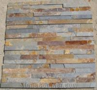 Natural Rustic Slate Cultured Stone Exterior Wall Tile ...