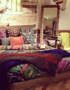 Bohemian bedding ideas design  home improvement kitchen bathroom also rh pinterest