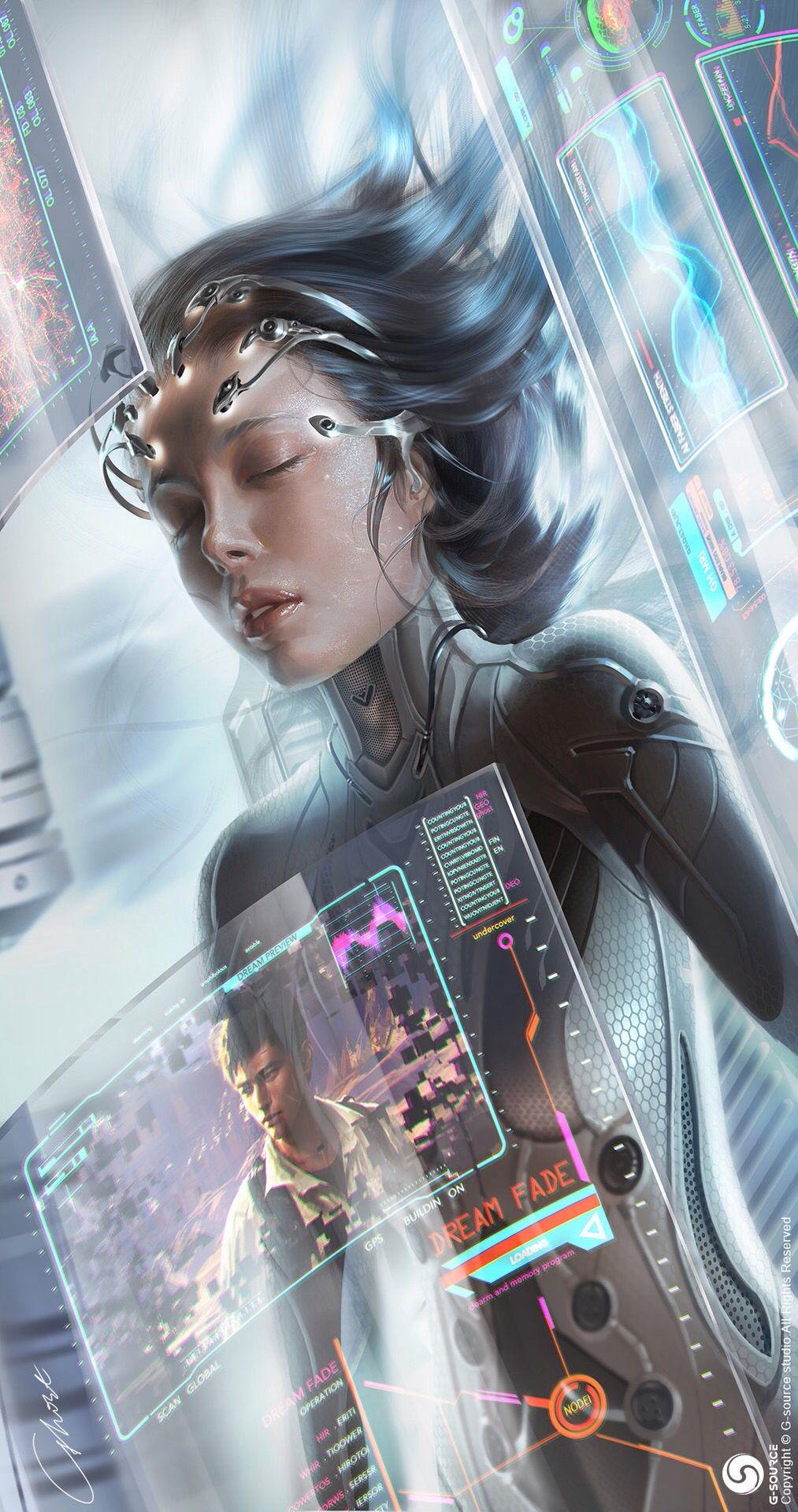 Sci Females Fi Art Doctor