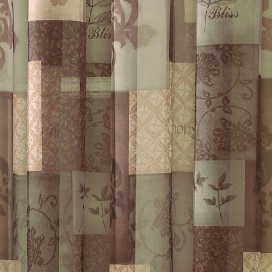 Shower Curtains With Valance And Co Eden Sage Window Sheer