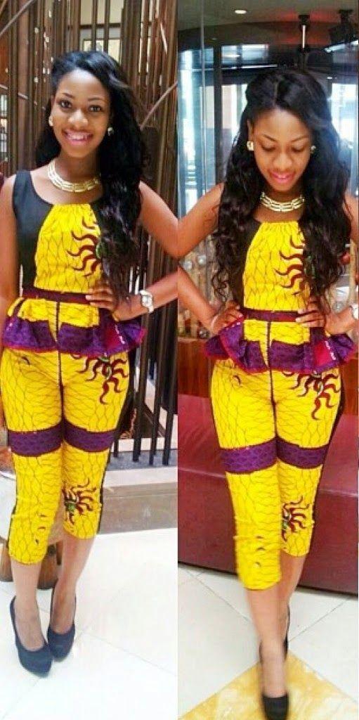 African Dress Styles U2013 Ankara Design U2013 DeZango Fashion Zone African Fashion,  Ankara, Kitenge, African Women Dresses, African Prints, Braids, ...