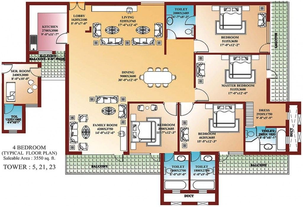 1000 Images About 4 Bedroom Single Family Blue Prints On Pinterest