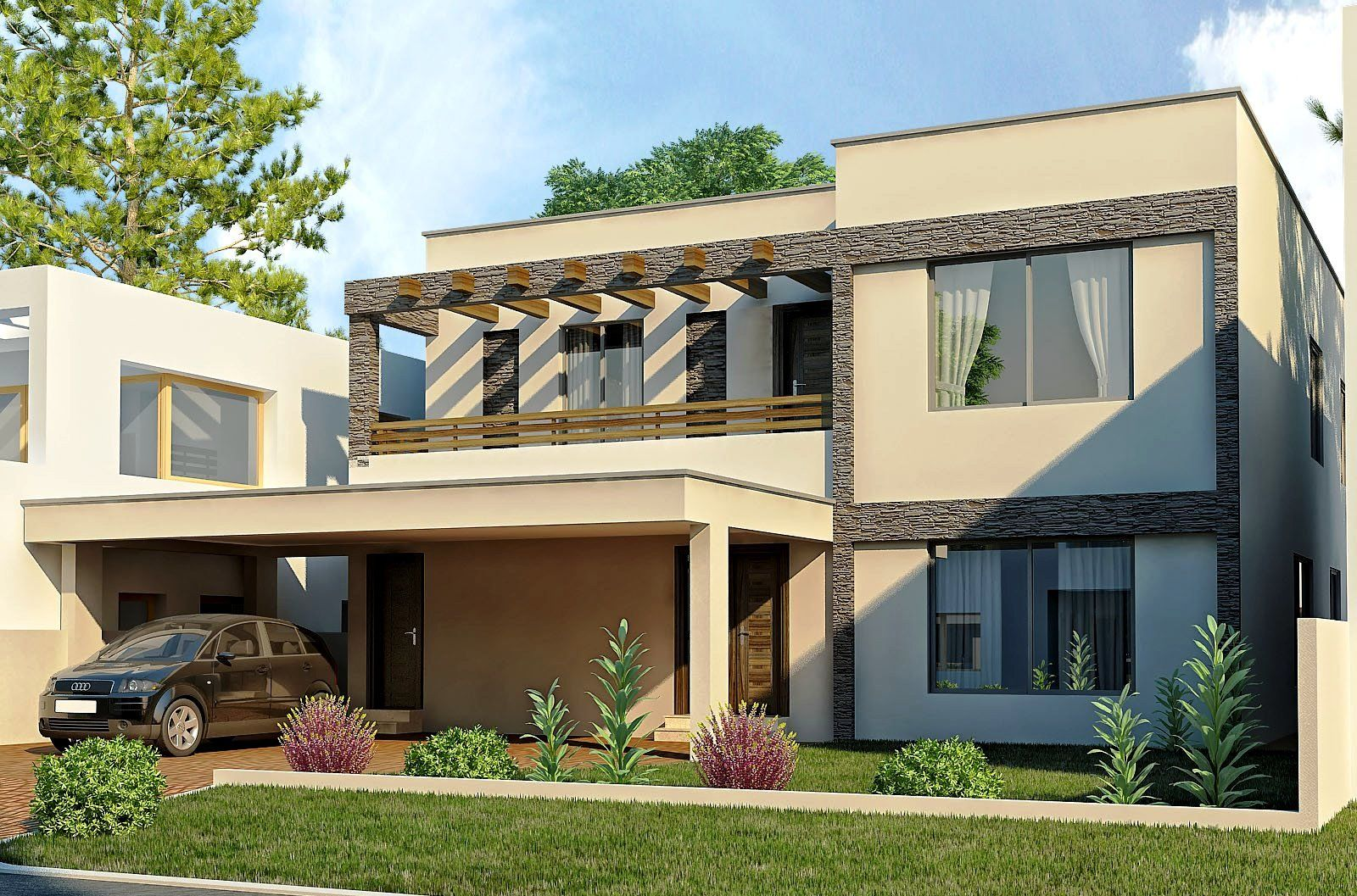 Modern Traditional Home Exterior Design In Forest Hills Interior