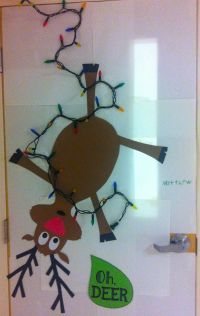 pinterest holiday door decorating ideas | Related For 3d ...