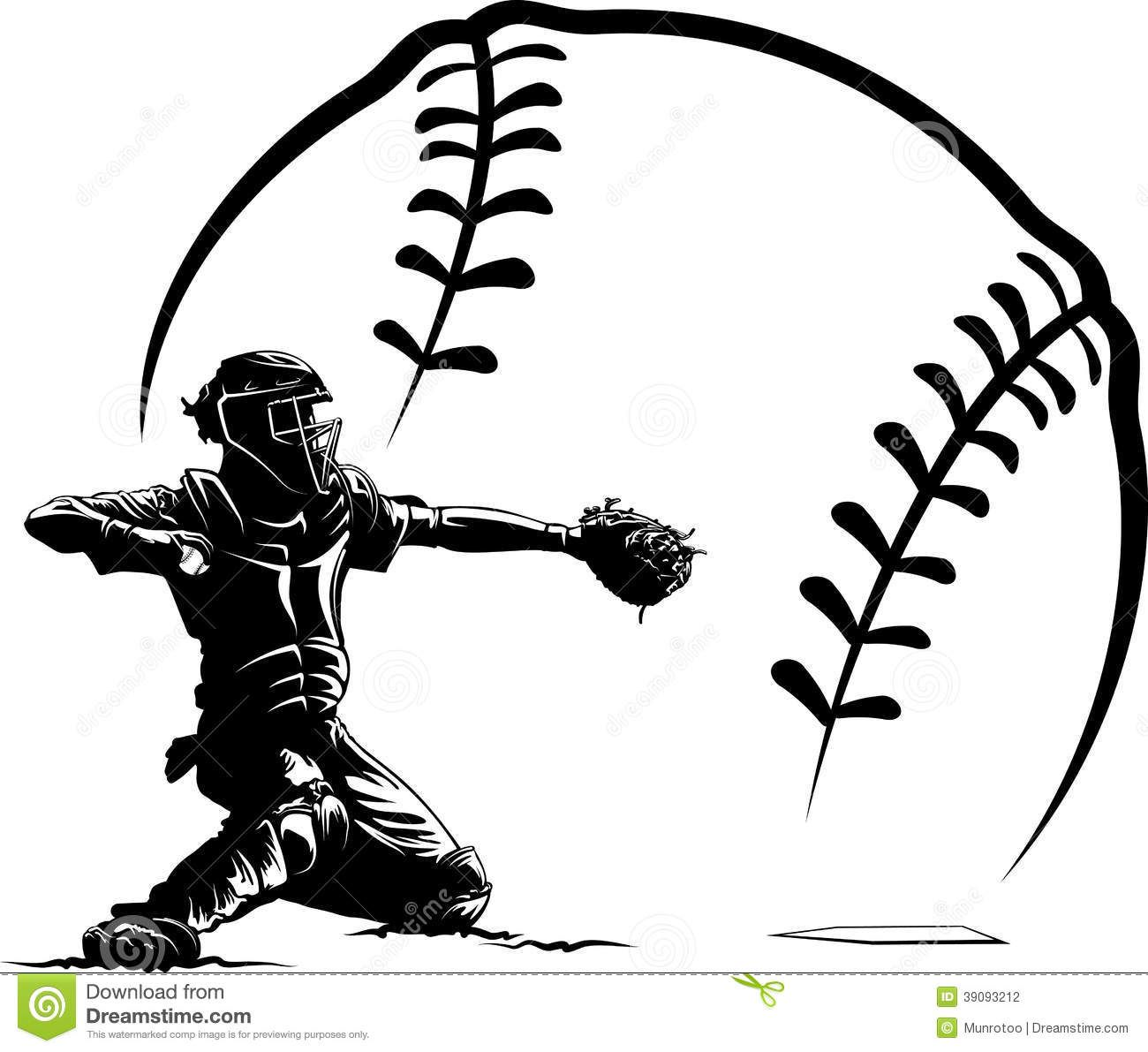 Baseball Decal Vector