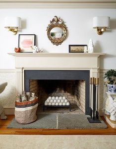 Inside  tasteful and fun family abode in connecticut fireplace designfireplace also small rh za pinterest
