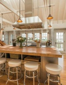 Inside celebrity homes kitchens that you will covet also the rh pinterest