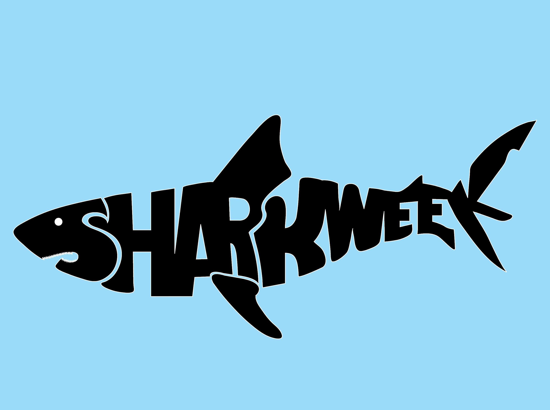 Shark Week Typography