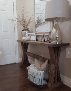 Styling your entryway ideasdiy tablefront also console table and rh pinterest